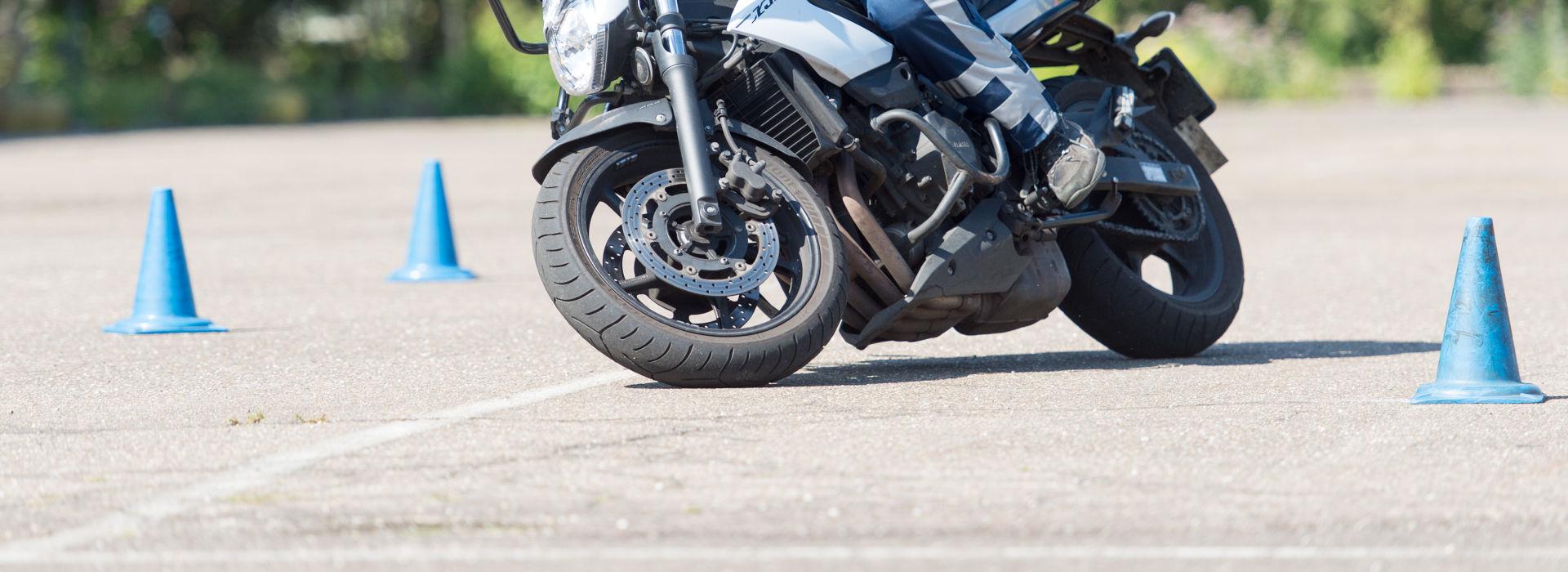Motorrijbewijspoint Groningen rijtest